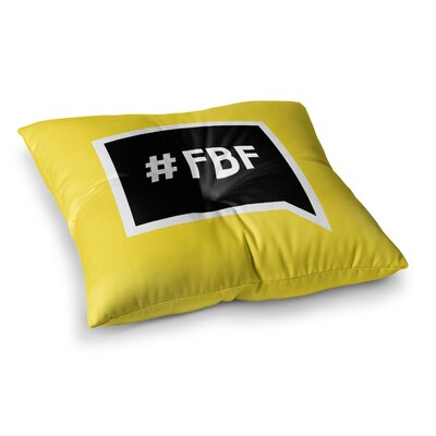 Flash Friday Floor Pillow Size: 23 x 23