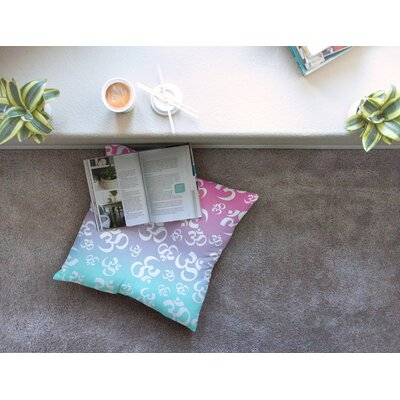 Ohm My Pastels Floor Pillow Size: 26 x 26