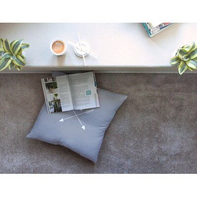 Arrow Monogram Floor Pillow Size: 26 x 26