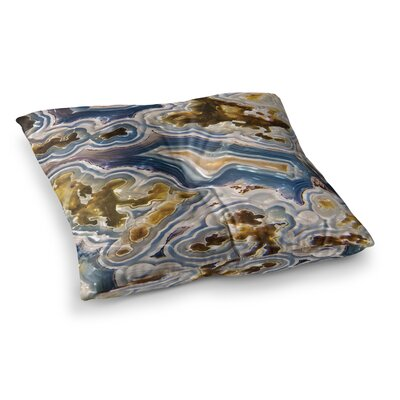 Agate Nature Floor Pillow Size: 26 x 26