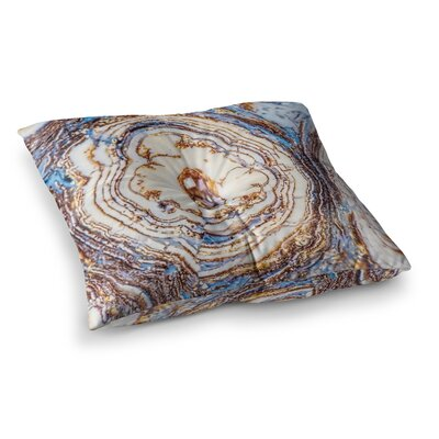 Crystal Agate Floor Pillow Size: 26 x 26