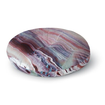 Sunrise Agate Round Floor Pillow Size: 23 x 23