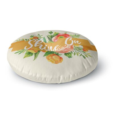 Shine On Round Floor Pillow Size: 23 x 23