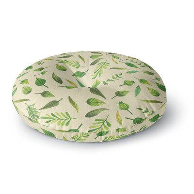 I Be-Leaf in You Round Floor Pillow Size: 23 x 23