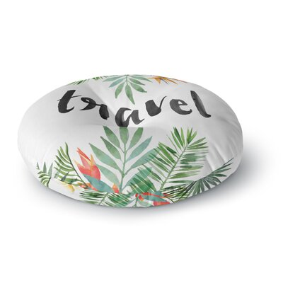 Travel Round Floor Pillow Size: 23 x 23