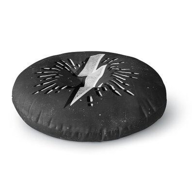 Bolt Round Floor Pillow Size: 26 x 26
