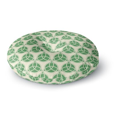Celtic - Pattern Round Floor Pillow Size: 26 x 26