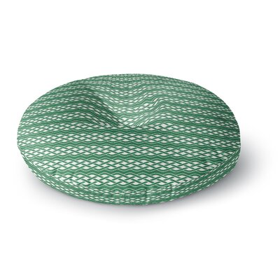 Celtic - Texture Round Floor Pillow Size: 23 x 23