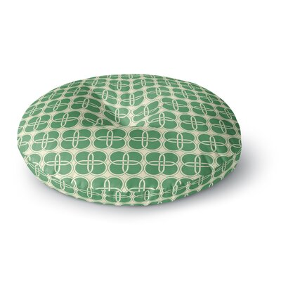 'Celtic Crosses' Round Floor Pillow Size: 23