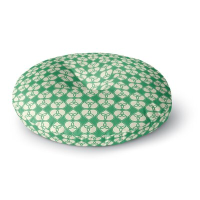 'Celtic' Round Floor Pillow Size: 26