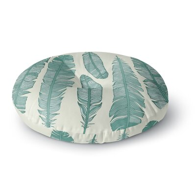 Balsam Feathers Round Floor Pillow Size: 26 x 26
