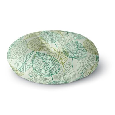 Make Like a Tree Round Floor Pillow Size: 26 x 26