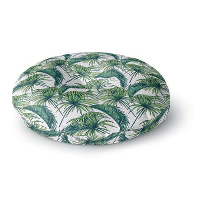 Palmtastic Nature Round Floor Pillow Size: 23 x 23