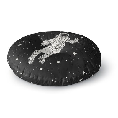 Space Adventurer Fantasy Round Floor Pillow Size: 26 x 26