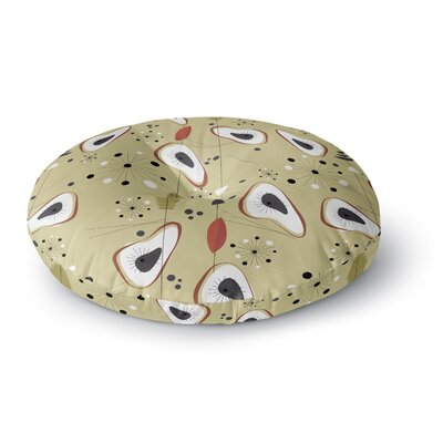 Galaxy Steaks Round Floor Pillow Size: 26 x 26