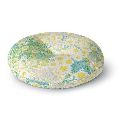 Kathryn Pledger Myatts Meadow Round Floor Pillow Size: 26 x 26