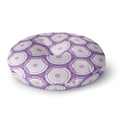 Louise Labyrinth Round Floor Pillow Size: 26 x 26