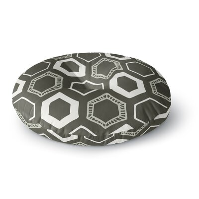 Laurie Baars Hexy Geometric Round Floor Pillow Size: 26 x 26