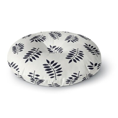 Laurie Baars Pagoda Leaf Small Round Floor Pillow Size: 23 x 23