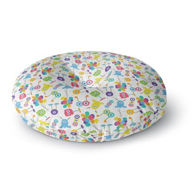 Laura Escalante Fun Creatures Round Floor Pillow Size: 26 x 26
