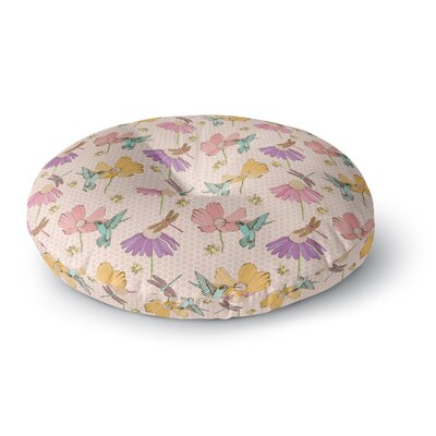 Laura Escalante Magic Garden Round Floor Pillow Size: 26 x 26