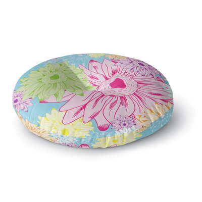 Laura Escalante Summer Time Round Floor Pillow Size: 26 x 26