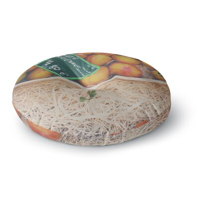 Laura Evans Tomate Ancienne Photography Round Floor Pillow Size: 26 x 26