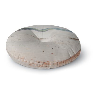 Laura Evans The Jurassic Coast Photography Round Floor Pillow Size: 23 x 23