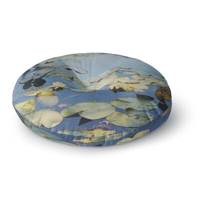 Laura Evans The Lily Pond Photography Round Floor Pillow Size: 26 x 26