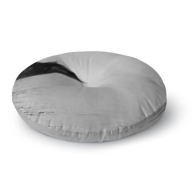 Laura Evans Moody Waters Photography Round Floor Pillow Size: 26 x 26