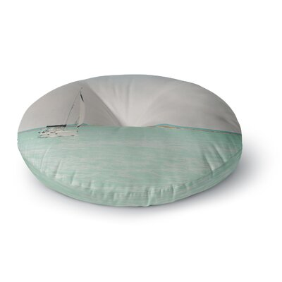Laura Evans Ocean Escapes Photography Round Floor Pillow Size: 26 x 26