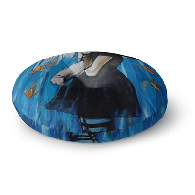 Lydia Martin Sink or Swim Round Floor Pillow Size: 26 x 26