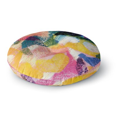 Louise Machado Texture Round Floor Pillow Size: 23 x 23