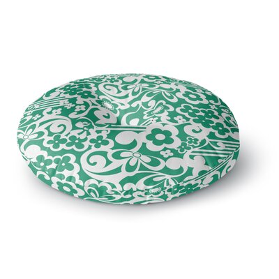 Louise Machado Esmerald Round Floor Pillow Size: 26 x 26