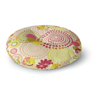 Louise Machado Poa Round Floor Pillow Size: 26 x 26