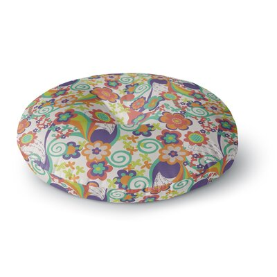 Louise Machado Printemps Round Floor Pillow Size: 23 x 23