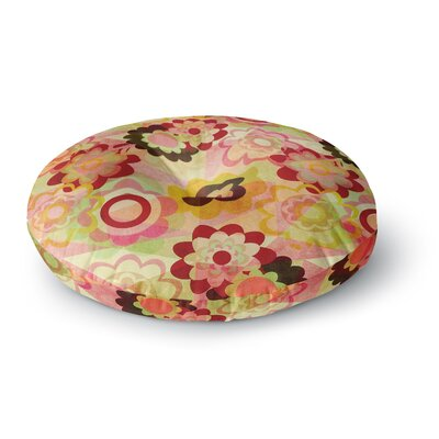 Louise Machado Colorful Mix Round Floor Pillow Size: 26 x 26