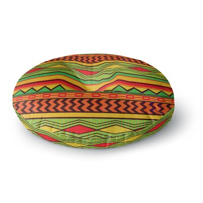 Louise Machado Egyptian Round Floor Pillow Size: 23 x 23
