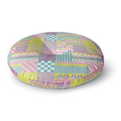 Louise Machado Patchwork Round Floor Pillow Size: 26 x 26