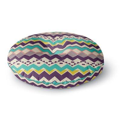 Louise Machado Ethnic Color Round Floor Pillow Size: 26 x 26