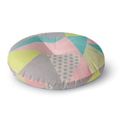 Louise Machado Geometric Pastel Round Floor Pillow Size: 26 x 26