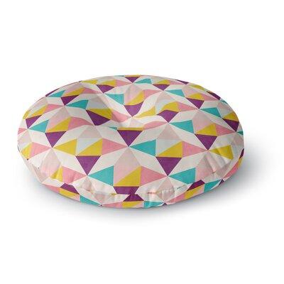 Louise Machado Amethyst Round Floor Pillow Size: 26 x 26