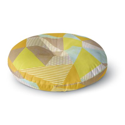 Louise Machado Geometric Round Floor Pillow Size: 26 x 26