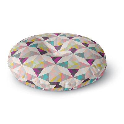 Louise Machado True Diamonds Round Floor Pillow Size: 23 x 23
