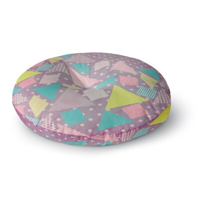 Louise Machado Candy Round Floor Pillow Size: 23 x 23