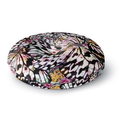 Louise Machado Butterfly Wings Round Floor Pillow Size: 26 x 26