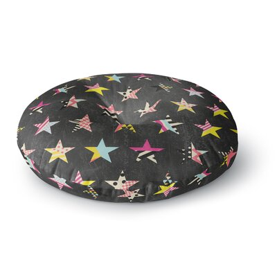 Louise Machado Dancing Stars Round Floor Pillow Size: 26 x 26