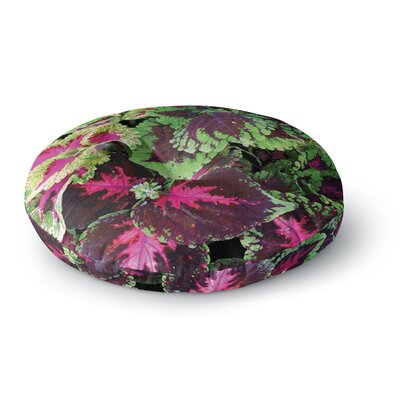 Louise Machado Forest Round Floor Pillow Size: 23 x 23
