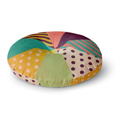 Louise Machado Umbrella Round Floor Pillow Size: 26 x 26