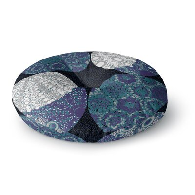 Laura Nicholson Moons Round Floor Pillow Size: 26 x 26